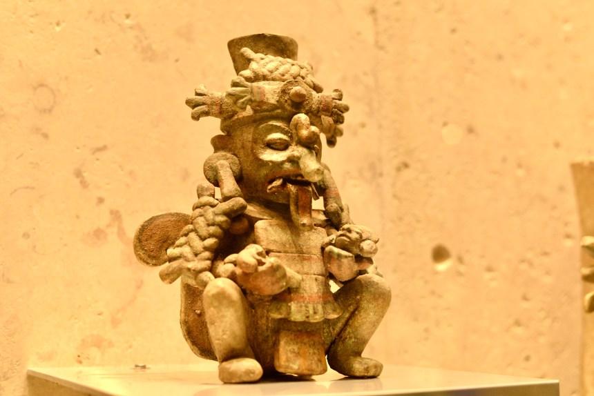 Maya world museum of Merida
