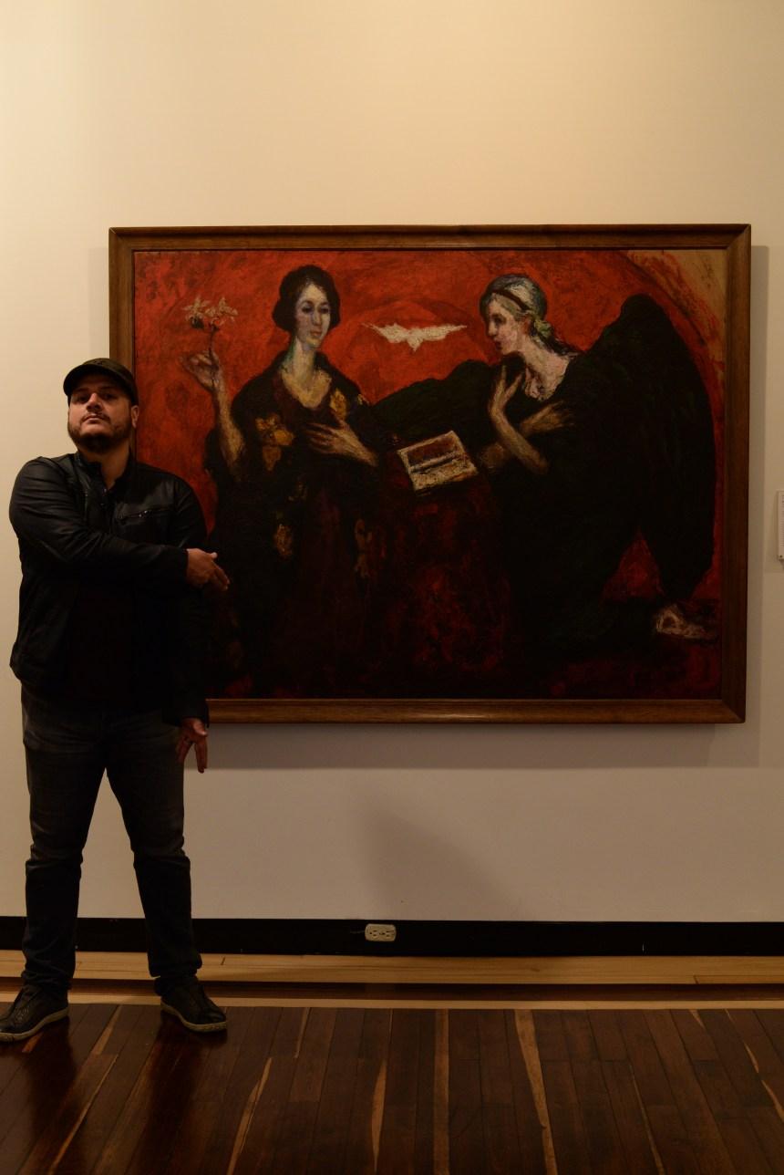 travel in bogota colombia artist Jose Santa Monica