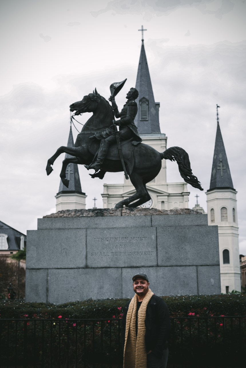 New orlean jackson square visit new orleans winter fall NOLA