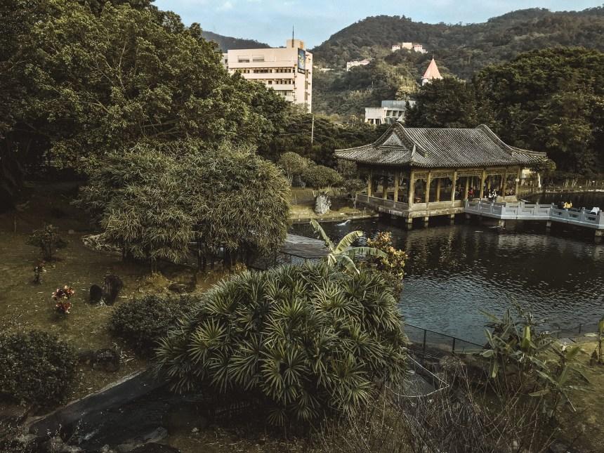 Zhishan Garden 至善園 travel in Taipei taiwan National palace museum