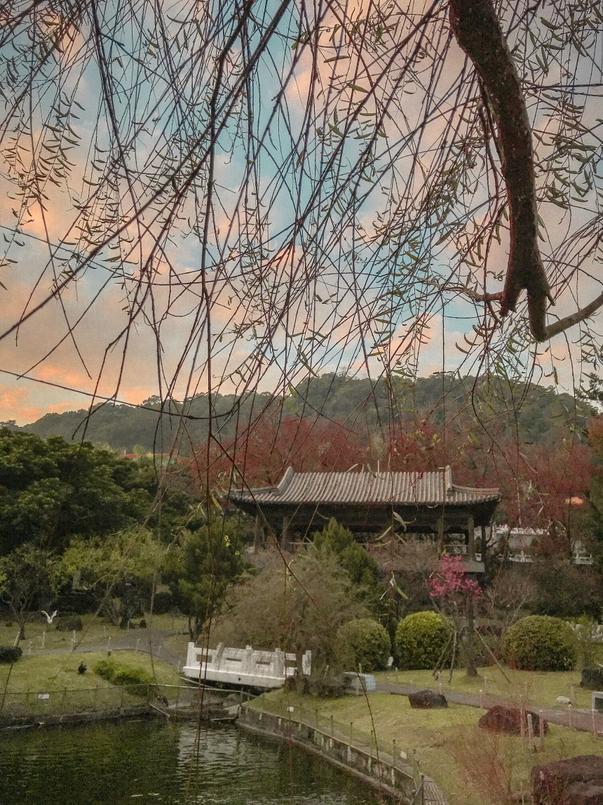 Zhishan Garden 至善園 travel in Taipei taiwan tourist attraction museum garden