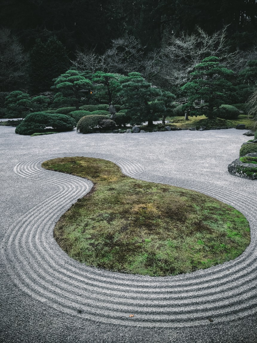 Japanese garden weekend getaway plan