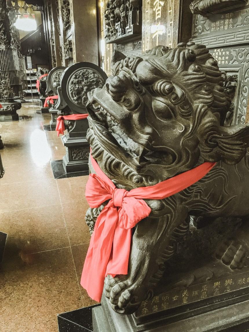 Qimingtang (Qiming temple) 啟明堂 south Taiwan trip