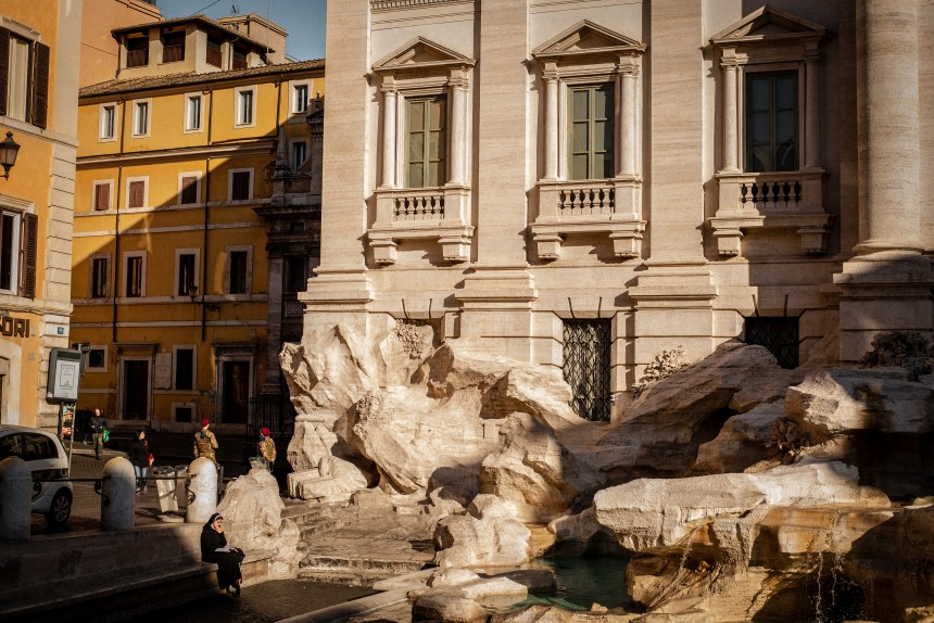 Fontana di Trevi Trevi fountain 6 day Rome trip guide intinery