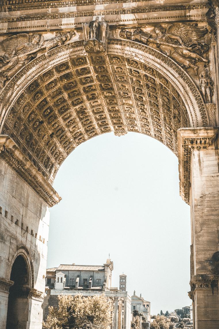 ruins of Rome Roman forum