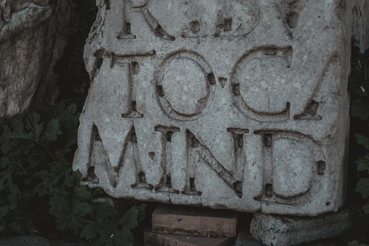 in Roman forum