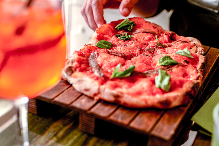 Agrodolce Roma pizza budget-friendly place