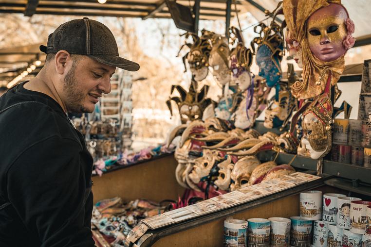 Castel Sant'Angelo flea market