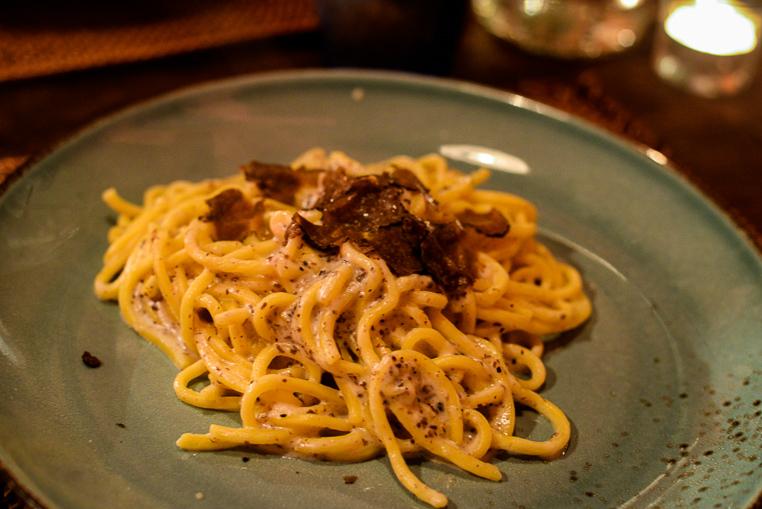 La Vecchia Locanda truffle pasta