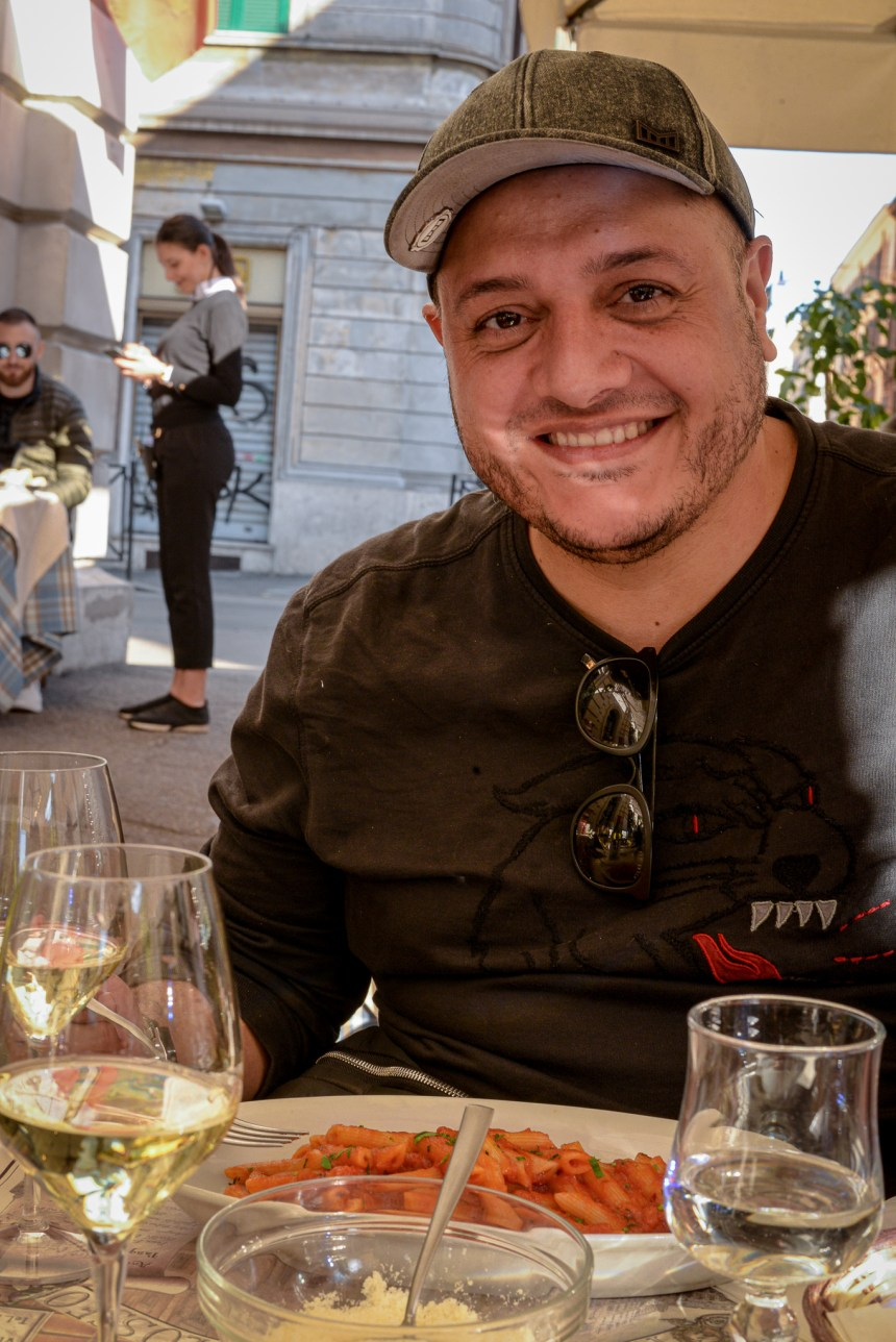 Pasqualino al Colosseo dining in Rome recommend