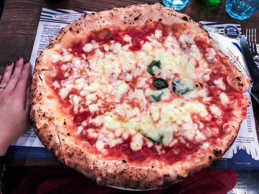 Sorbillo Pizzaria budge friendly pizza