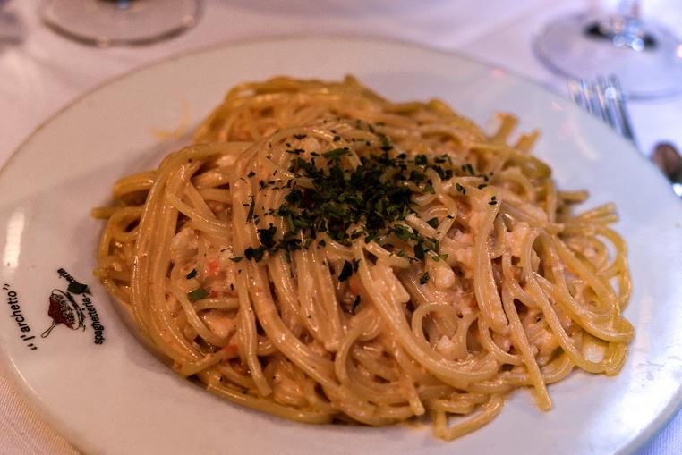 Spaghetteria l'Archetto Chanel pasta