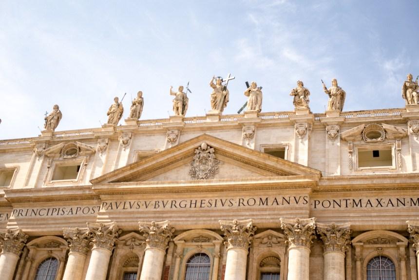 St Peter's Basilica Rome trip
