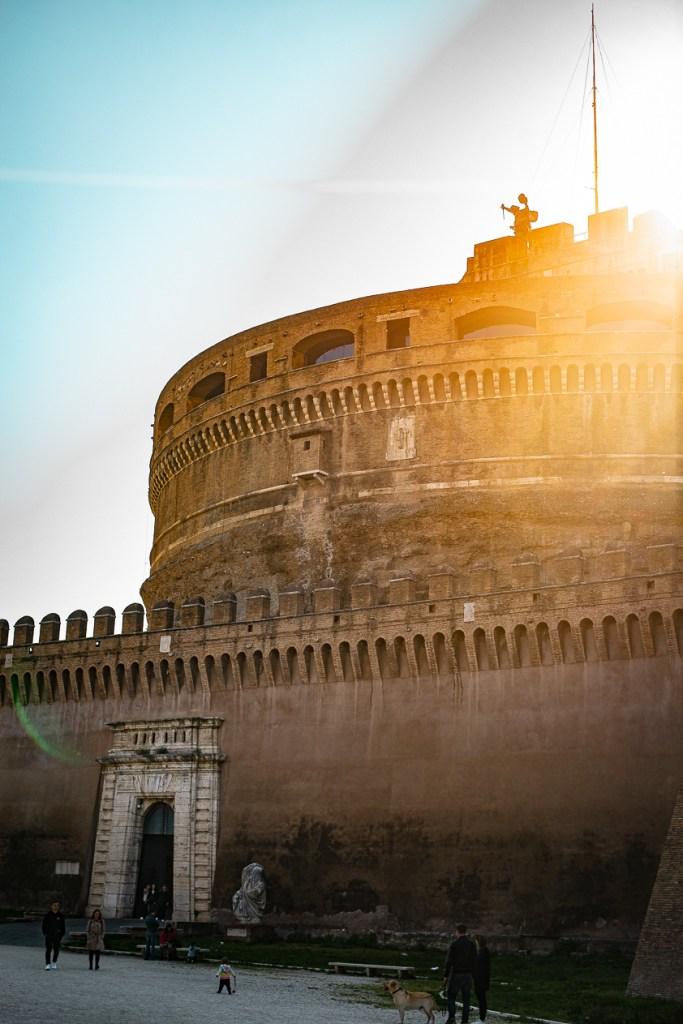 Castel Sant'Angelo experience-most photogenic places in Rome
