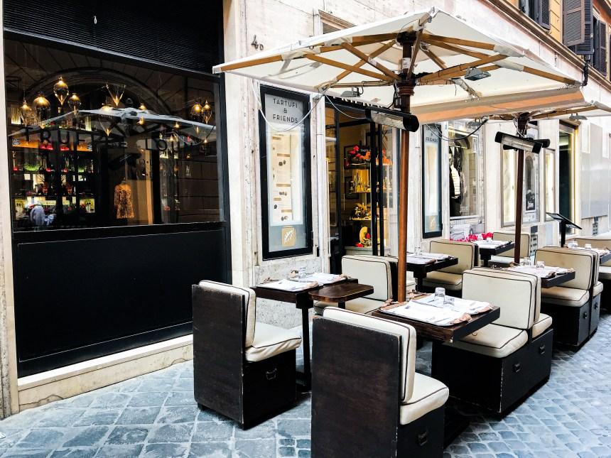 Tartufi & Friends center Rome restaurant to go