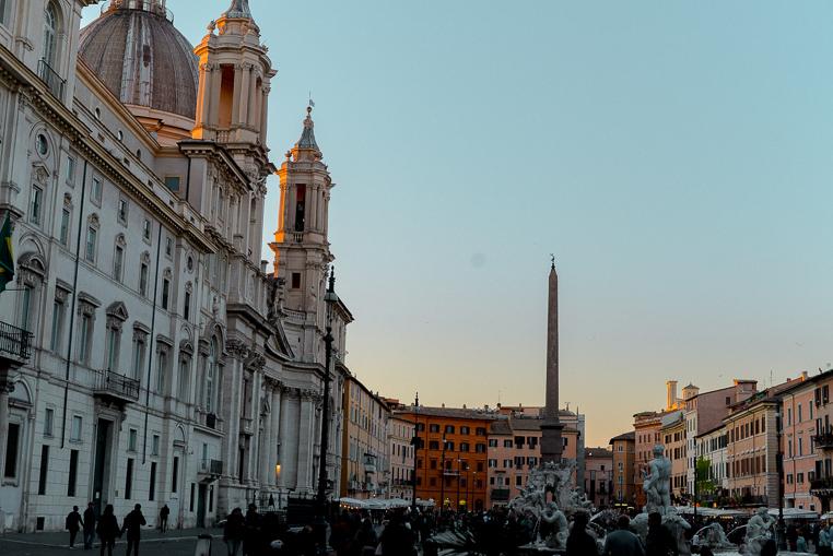 Piazza Navona famous Plaza Rome
