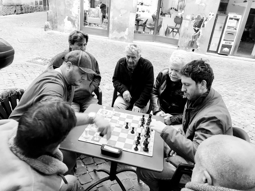 where to play Chess in Rome