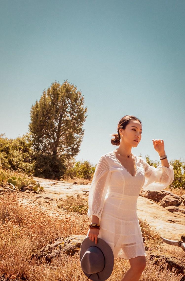Anthropologie Blanche Rancher desert california dream Mt. Laguna trail Cuyamaca California
