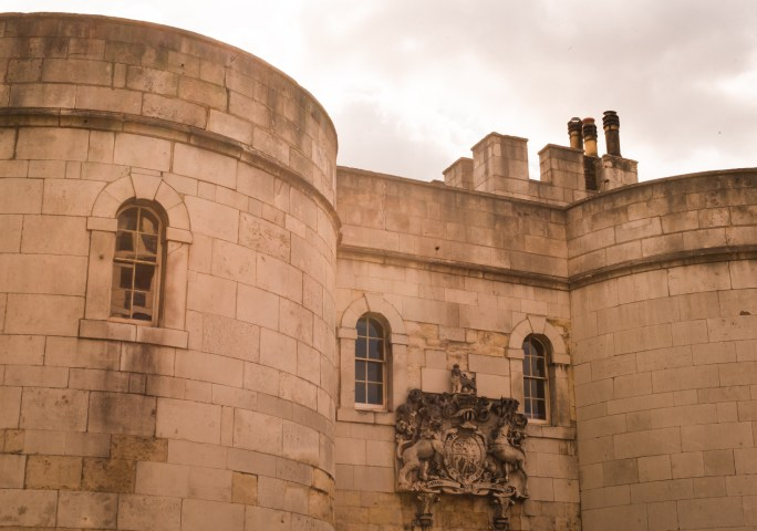 Tower of London close up