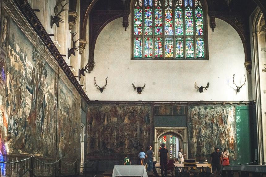 Hampton court palace Henry VIII hall
