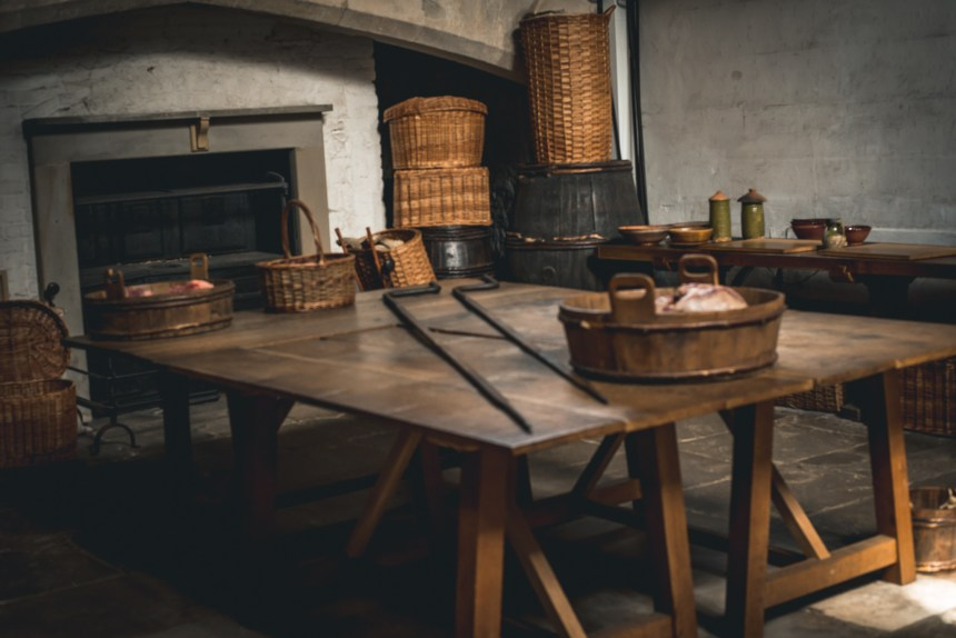 Hampton court palace Henry VIII kitchen