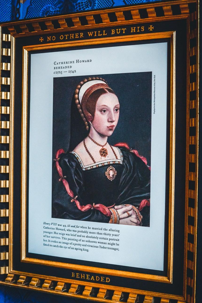 Hampton court palace Henry VIII fifth wife