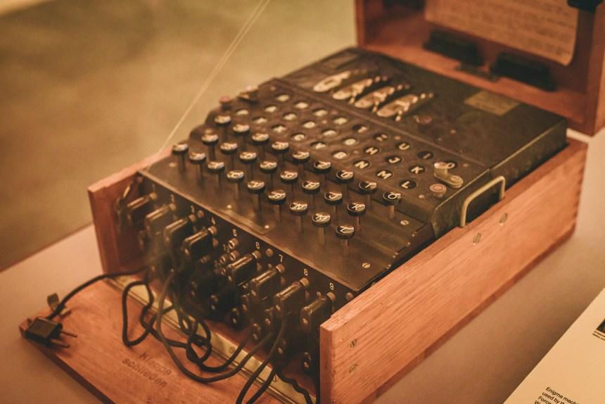 Turing Enigma machine