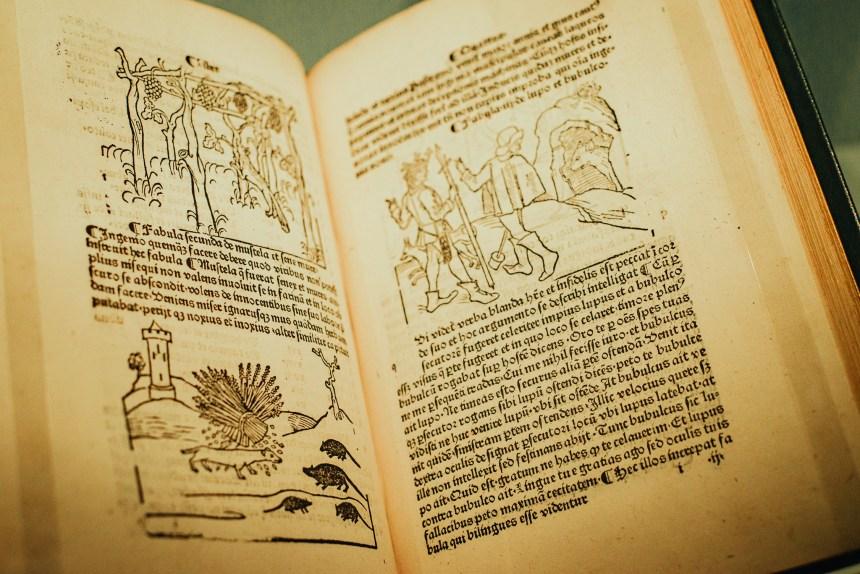 treasures gallery British Library experience