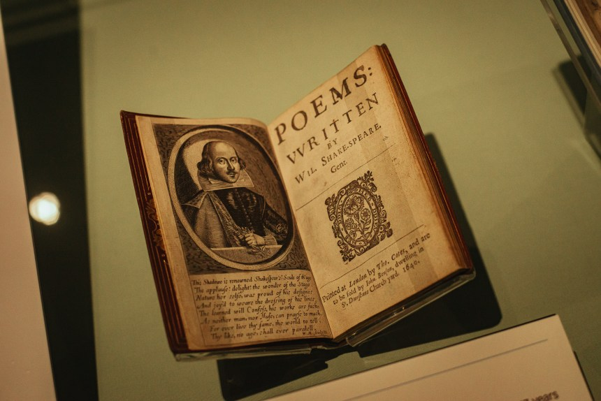 Shakespeare London book British library