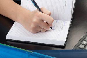 writing things down