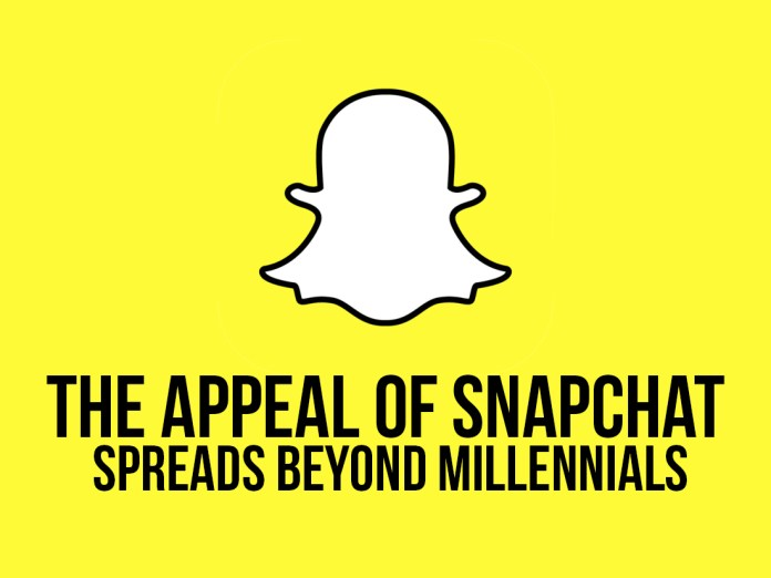 The Appeal of Snapchat Spreads Beyond Millenials