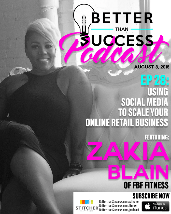Interview with Zakia Blain FBF fitness