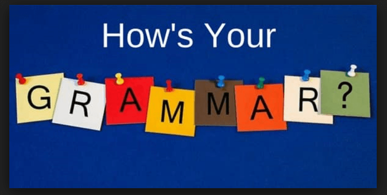 Improve your TOEFL grammar