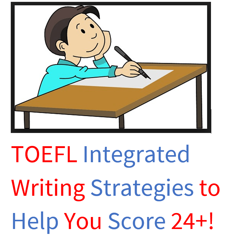 Use this TOEFL integrated writing lesson to score higher.