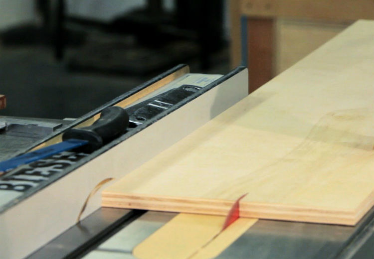How To Rip Plywood On A Portable Table Saw