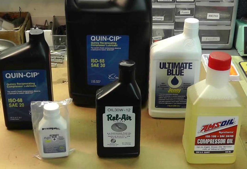 What Oil To Use In Air Compressor Pump