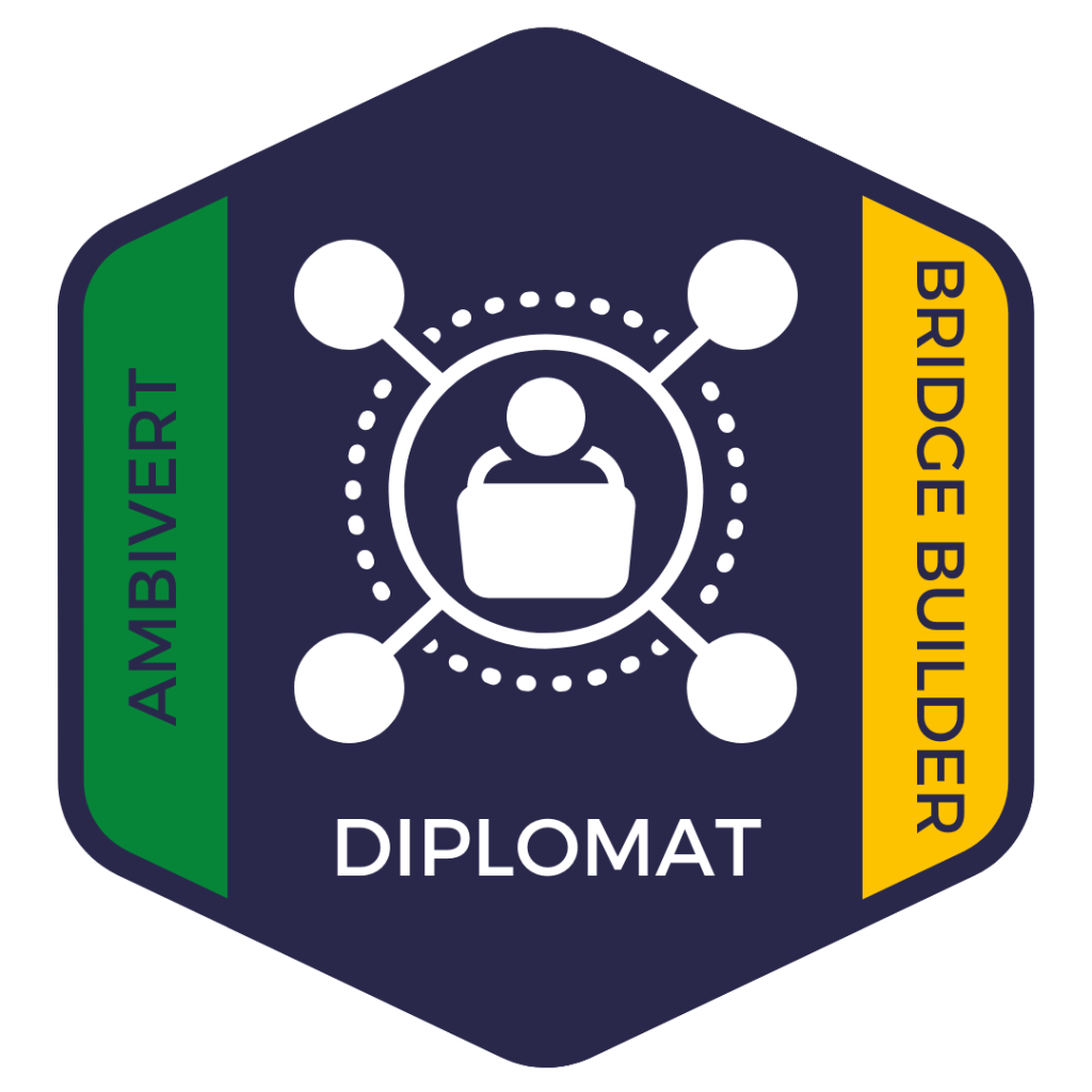 Diplomat: Ambivert and Bridge Builder