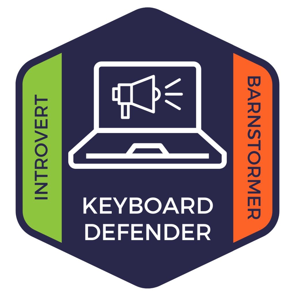 Keyboard Defender: Introvert and Barnstormer