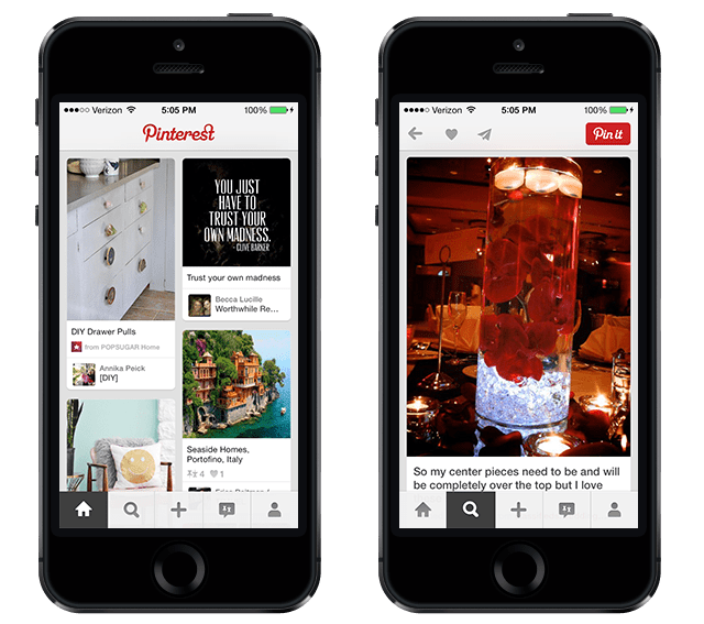 Pinterest iPhone App - Better with Family (www.betterwithfamily.com)