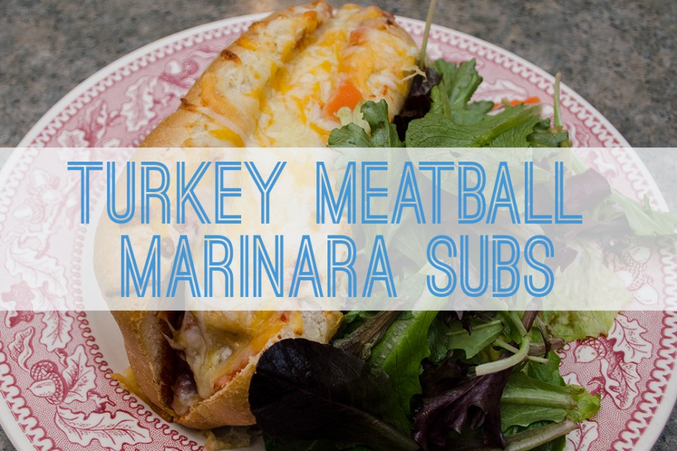 Turkey Meatball Marinara Sub - Better with Family (www.betterwithfamily.com)