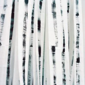 Pandora 2002, Grösse raumbezogen, Tusche auf 800m Endlospapier