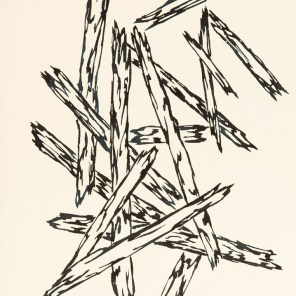 Faschi - Serie, 2016, Tusche, Maße 20 x 30