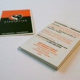 Streamline Studios Business Card - Front and Rear
