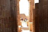 walking to the tombs