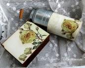 Kanka z różą