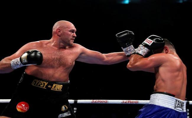 Tyson Fury V Tom Schwarz Betting Tips Predictions Sun