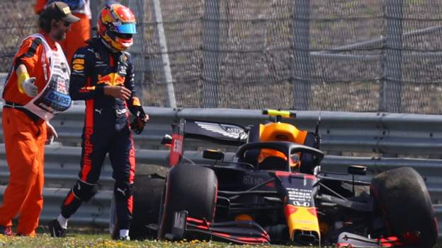 British Grand Prix: Alex Albon crashes as Lance Stroll tops second practice