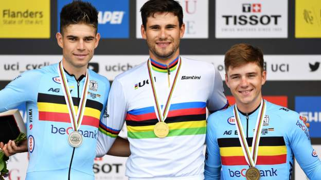 Filippo Ganna defends Road Cycling World Championships time trial title
