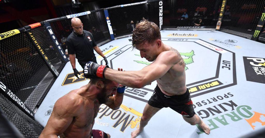 Kyle Daukaus would be foolish not to 'follow the blueprint' to beat Kevin Holland at UFC Vegas 38