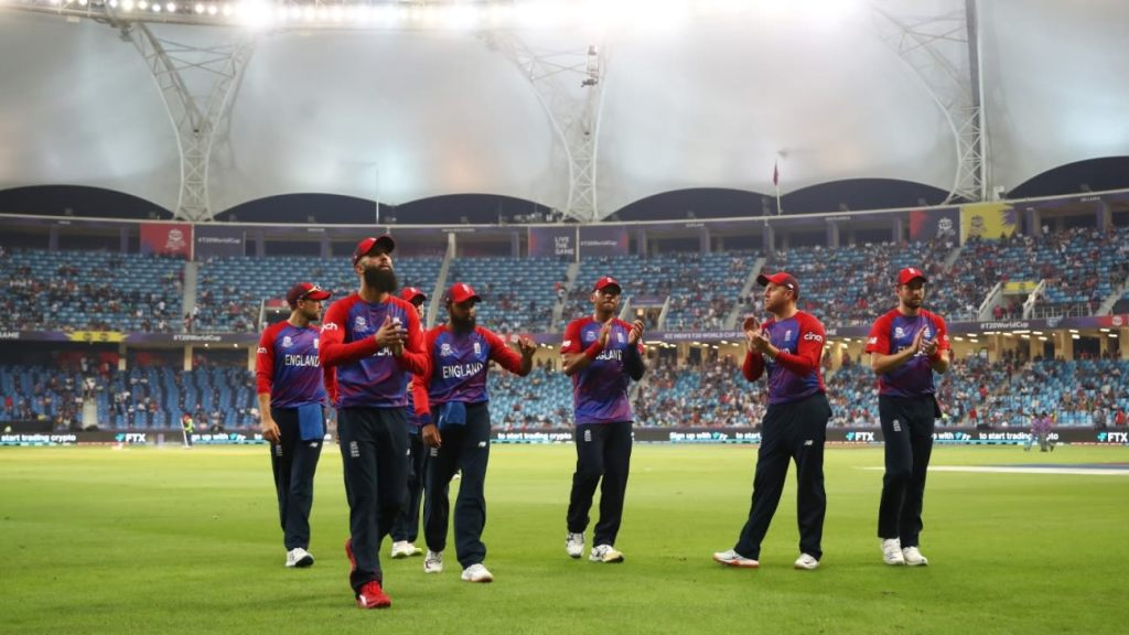 England launch T20 World Cup campaign with rout of West Indies